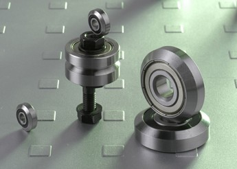 RE…Journal Bearings, Track rollers with one beveling profile-RE Series